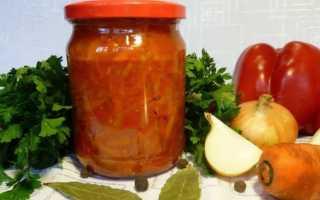 Рецепт лечо из болгарского перца и томатов